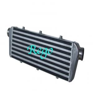 Cheap 550mm X 140mm X 65mm Universal Intercooler , Black Front Mount Intercooler wholesale