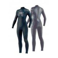 Quality Custom Long Neoprene Wetsuits 3mm GBS Lady's Fullsuit for Scuba Diving for sale
