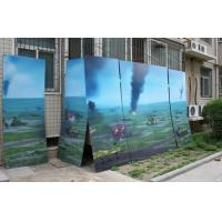 Cheap PLASTIC LENTICULAR large size 3d poster large format lenticular advertising poster 3d flip printing wholesale