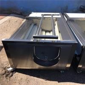 1.5kw Fruit Washing Equipment , Electric Control Tomato Washing Machine