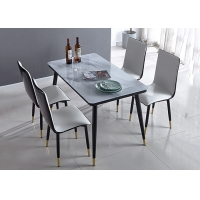 Cheap Ground Glass Banquet Solid Modern Dinning Table And Chairs wholesale