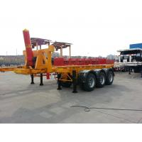 Cheap tip chassis for containers hydraulic dump trailer 45 ton  - CIMC VEHICLE wholesale