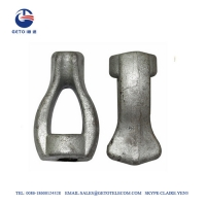 Cheap 0.625 Inch Pole Foreged TEN Galvanized Eye Nut wholesale