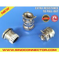 Cheap Metal Brass Cable Gland IP68 with Traction Relief Double Clamp wholesale