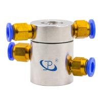 Cheap Slip Ring of 2 Channels Rotary Union Routing Compressed Air with Extremely Low Torque wholesale