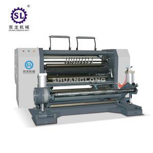 China Jumbo Paper Roll Rewinding Machine Blower Trimming 380V 50Hz Power Supply on sale