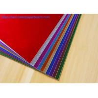 Buy cheap PET Film Laminated Paper Cardstock for Gift Box/Salon Decoration from wholesalers