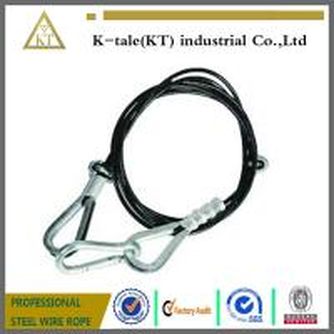 "Cheap Mazzella Mechanical Splice Wire Rope Sling, Eye-and-Eye, 6 x 25 IWRC, 8' Length, 1/2"" Diam wholesale"