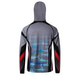 Cheap Lightweight Outdoor Fishing Zip Up Hoodies , Personalized Cool Fishing Sweatshirts wholesale