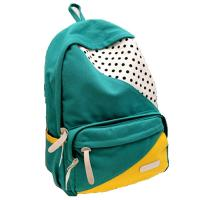 Cheap ECO Friendly Green Pretty Outdoor Sports Backpack Canvas Back Pack Personalized wholesale