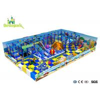 Cheap Customized Indoor Soft Playground Anti - Static 2CM Thickness With Protective Web wholesale