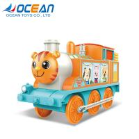 China Train toy musical light electric battery ride on car for kids on sale