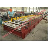 Cheap Cameroun Aluzinc Roofing Sheet Roll Forming Machine With Electric Decoiler wholesale
