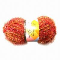 Buy cheap Hand Knitting Fancy Yarn, Suitable for Motifs and Crocheted Trims, Samples are from wholesalers