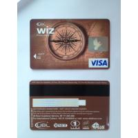 Cheap Prepaid debit card / visa smart card customer design PVC material wholesale