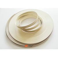 China High Gloss Wood Grain Pvc Edge Banding Tape For Furniture / Cabinet on sale