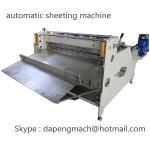 Cheap Aluminum Foil roll to sheet cutting machine copper foil sheeting machine max width 800mm wholesale