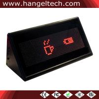 16x48 Programmable Double-Sided Desktop LED Counter Moving Display Scrolling Mesage Sign