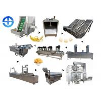 Cheap Capacity 150kg/H Banana Chips Making Machine Easy Operation With Large Output wholesale
