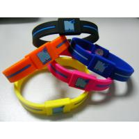 Cheap Power Energy Balance Rubber Wristband, Custom Silicone Bracelets For Anniversary wholesale