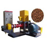 Cheap Africa fish farm Feed Pellet Machine , Floating Fish Feed Extruder Machine wholesale