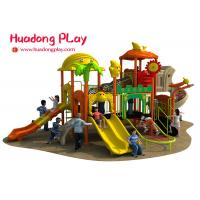 Cheap Colorful Outdoor Plastic Playground Playhouse For 3-12 Years Old Children wholesale