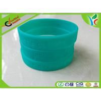 Cheap Eco-friendly Silicone Wrist Bracelets Green Flexible For Children wholesale