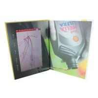 Cheap Video IN Folder 10.1 inch 4GB memory video brochure card with touch screen  USB cable free provided wholesale