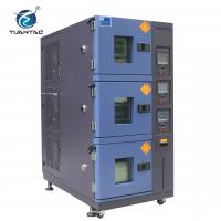 Buy cheap Air Cooling Type 3-layer Climatic Temperature Humidity Test Chamber from wholesalers