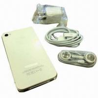 Cheap Apple iPhone 4 Mobile Phone, Sends SMS, Quad Band, Refurbished wholesale