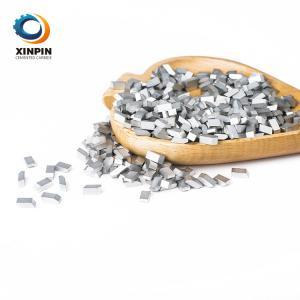 Cheap Tungsten Carbide Saw Brazed Tips Saw Blade Teeth YG6 YG8 YG11 K10 K20 K30 For Wood Metal  aluminium Cutting wholesale