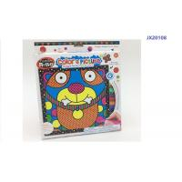 Cheap 9 Inch Kitty Cat Kids Drawing Board Toys With 6 Washable Color Markers wholesale