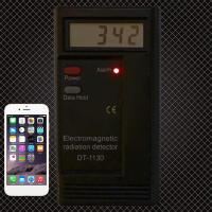 China Enerna IoTech Electromagnetic Radiation EMF Meter Dosimeter Frequency Tester R100 Digital LCD Electromagnetic Meter on sale