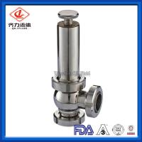 Cheap High Sanitation Hygienic Pressure Relief Valve Manual Gear Powered Union Connected wholesale
