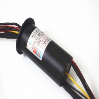 China 70mm 150rpm Multi Channel IP54 Ethernet Slip Ring on sale