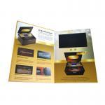 Cheap Smart Video Brochure HD Screen Inserted A5 Portrait Folder Size 350gsm Paper Material wholesale