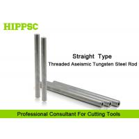 Cutter Head Solid Carbide Rod with Tungsten Steel materials , Straight Shank Type