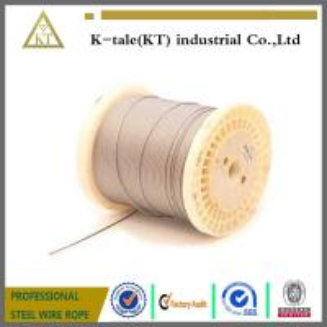 Cheap 1x19 automobile control custom galvanized steel wire cable manufacturer wholesale
