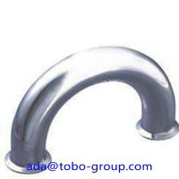 Cheap Butt Welding Pipe Fittings Carbon Steel Elbow 180 Elbow For Petroleum , Chemical wholesale