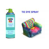 China Non Toxic 200ml Fabric Spray Paint for Clothing , Water Based T Shirt Spray Paint on sale