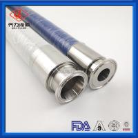 Cheap Food Liquids Sanitary Hose Fittings Flexible  PVC  Tube Clear Spiral Wire Reinforced wholesale