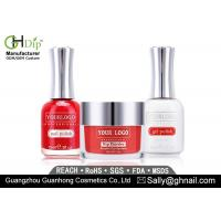 Elegant Red Perfect Match Colors Dip Gel Nail Kit Gel Polish Organic Dip Powder