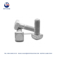 Cheap Square MB 11.5KN Galvanized Bolts And Nuts wholesale