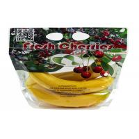 Cheap Anti - Fog Fresh Fruit Bags Clear Plastic OPP/CPP Protection Packaging With Zipper wholesale
