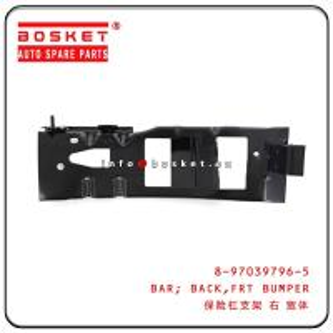 Cheap 8-97039796-5 8970397965 Front Bumper Back Bar For ISUZU 100P High Performance wholesale