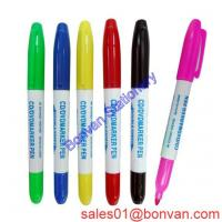 Cheap High quality non-taxic permanent fabric marker for promotional wholesale