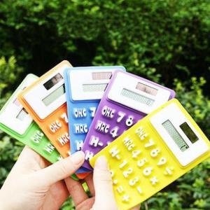 Cheap Calculator Silicone Calculator,Pocket Calculator 2013 wholesale