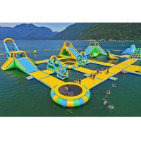 China Floating Playground Inflatable Water Park / Inflatable Water Toys on sale