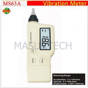 Cheap handheld portable digital vibration meter MS63A wholesale