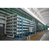 Cheap 5-25m3 / h PLC Control Automatic Reverse Osmosis sea water treatment plant High Performance wholesale